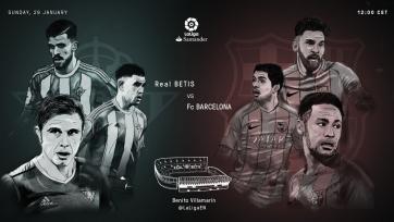 «Бетис» – «Барселона», прямая онлайн-трансляция. Стартовые составы команд