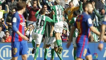 «Барселона» потеряла очки в поединке с «Бетисом»