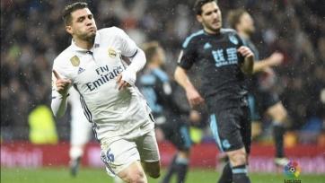 Мадридский «Реал» забил три мяча «Реал Сосьедаду»