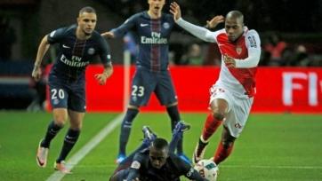 «Монако» в последний момент вырвало ничью в игре с ПСЖ