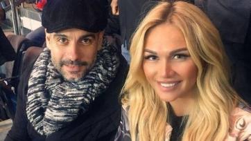 Хосеп Гвардиола смотрел матч между ПСЖ и «Монако» в компании Виктории Лопыревой