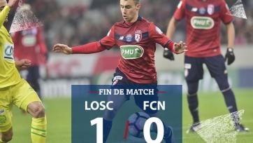 «Лилль» и «Бордо» прошли в 1/8 финала Кубка Франции