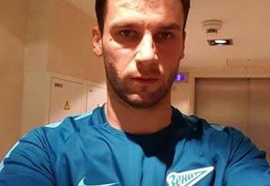 В Сети появилось первое изображение Ивановича в футболке «Зенита»