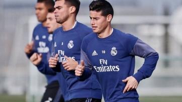 Хамес Родригес и Пепе возобновили тренировки с общей группой