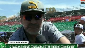 Диего Марадона: «Бауса – такой же предатель, как и Икарди»