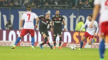 «Гамбург» одержал неожиданную победу над «Байером»