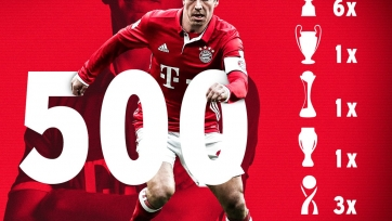 Лам провёл 500 поединков за «Баварию»
