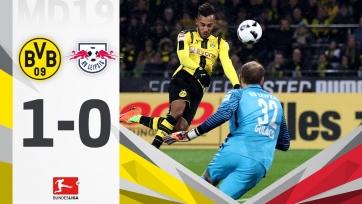 Дортмундская «Боруссия» переиграла «РБ Лейпциг»