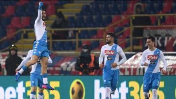 «Наполи» установил рекорд результативности в истории Серии А