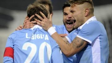 «Пескара» и «Лацио» забили восемь мячей