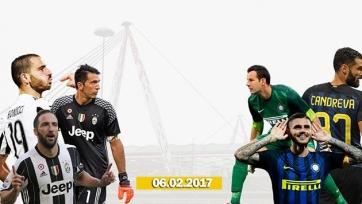 «Ювентус» - «Интер», прямая онлайн-трансляция. Стартовые составы команд