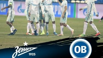 «Зенит» не сумел переиграть в товарищеском матче датский «Оденсе»