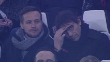 Конте посетил матч между «Ювентусом» и «Интером»