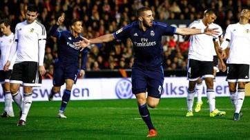 Поединок между «Валенсией» и «Реалом» состоится 22-го февраля