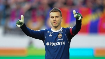 ЦСКА провёл шесть сухих матчей без Акинфеева