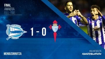 «Алавес» обыграл «Сельту» во втором полуфинальном матче Кубка Испании