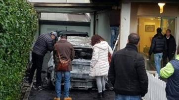 Тифози «Пескары» сожгли две машины президента клуба