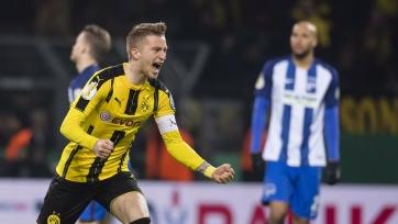 «Боруссия» прошла «Герту», пробившись в четвертьфинал Кубка Германии