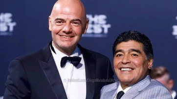 Марадона стал работником ФИФА