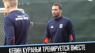 Кураньи принял участие в первом матче за «Динамо»
