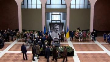 В Киеве простились с легендарным Виктором Чановым