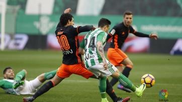 «Бетис» и «Валенсия» голами не порадовали