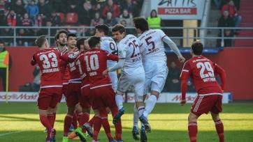 «Бавария» дожала «Ингольштадт», дортмундская «Боруссия» проиграла «Дармштадту»