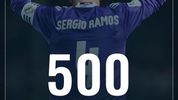 Серхио Рамос проведёт 500-й матч за «Реал»