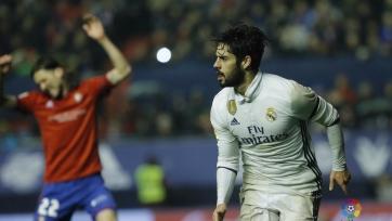 «Реал» добился победы в Памплоне, обыграв «Осасуну»