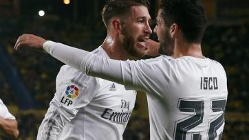 Серхио Рамос и Иско – игроки с лучшей реализацией моментов в «Реале»