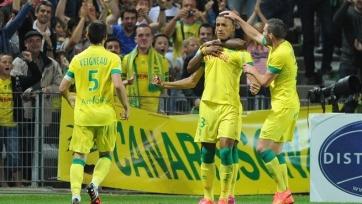 «Нант» сумел обыграть в домашнем матче «Марсель»