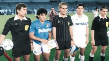 Марадона на Сантьяго Бернабеу тридцать лет назад, осенью 1987-го года