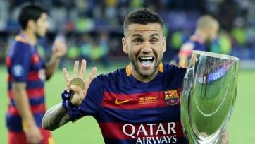 Дани Алвес поддержал «Барселону»
