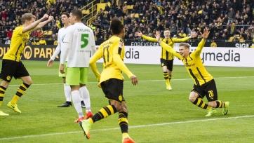 «Боруссия» крупно обыграла «Вольфсбург» и другие результаты матчей 21-го тура Бундеслиги