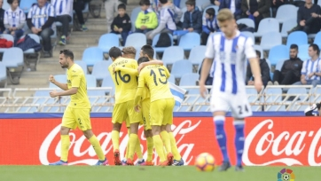 «Вильярреал» на последней минуте вырвал победу у «Реал Сосьедада»