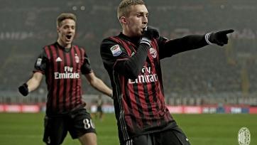 «Милан» сумел обыграть в домашнем матче «Фиорентину»