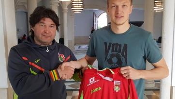 Официально: Пуцко перешёл из «Спартака» в «Уфу»