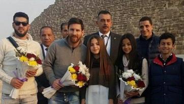 Месси посетил столицу Египта