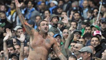 Фанатам «Наполи» запретили присутствовать на кубковом матчем с «Юве»