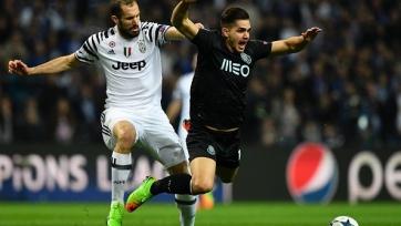 «Ювентус» переиграл «Порту» благодаря голам Пьяцы и Алвеса