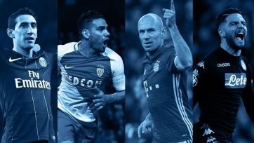 УЕФА назвал пять лучших голов в первых матчах плей-офф Лиги чемпионов