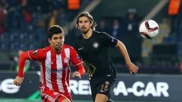 «Олимпиакос» вышел в следующий раунд Лиги Европы