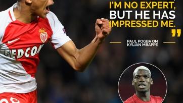 Поль Погба: «Не слежу за другими клубами, но Мбаппе мне нравится»