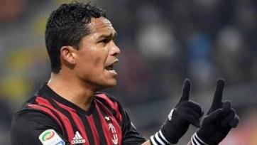 Карлос Бакка: «Я счастлив в «Милане», хочу выиграть с клубом европейский турнир»