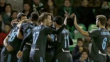 «Бетис» проиграл дома «Реал Сосьедад»