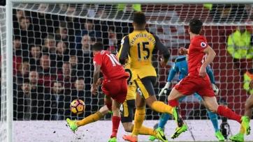 «Ливерпуль» - лидер АПЛ по количеству голов, забитых в первые полчаса матча