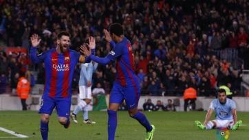 «Барселона» забила «Сельте» пять безответных мячей