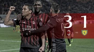 «Милан» уверенно переиграл «Кьево»