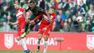 «Краснодар» и «Спартак» забили четыре гола, но не выявили победителя