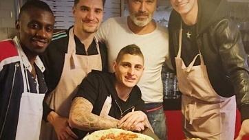 Марко Верратти помог Дракслеру освоить профессию пиццайоло